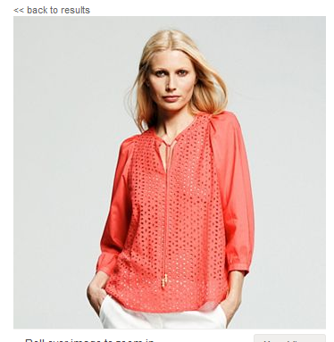 peter som eyelet tunic Peter Som for DesigNation at Kohls Fab Five + Giveaway