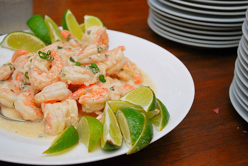 Sauza Tequila Lime Shrimp
