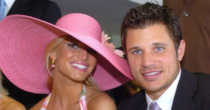 jessica simpson nick lachey kentucky derby 700 x 367 Celebrities at the Kentucky Derby