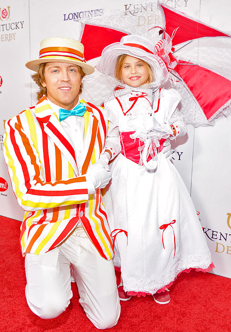 larry birkhead dannielynn kentucky derby Celebrities at the Kentucky Derby