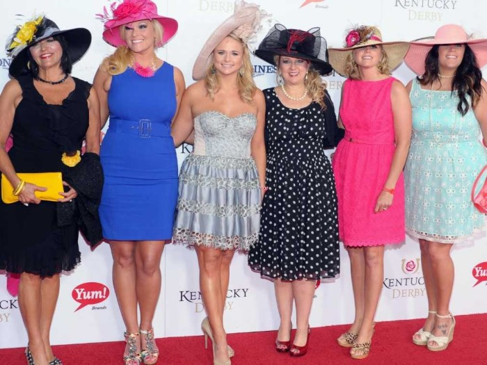 miranda lambert kentucky derby 700 x 525 Celebrities at the Kentucky Derby