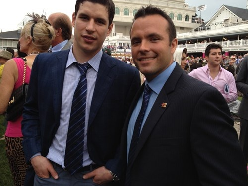 sidney crosby kentucky derby Celebrities at the Kentucky Derby