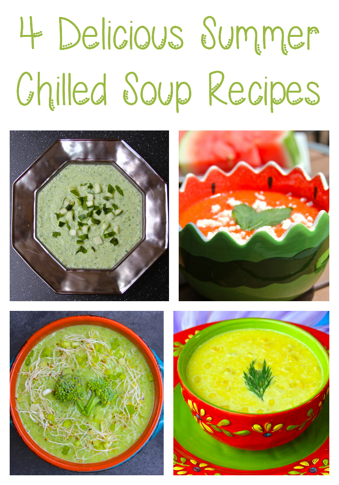 4 delicious summer chilled soup recipes 4 Delicious Recipes for Chilled Soups