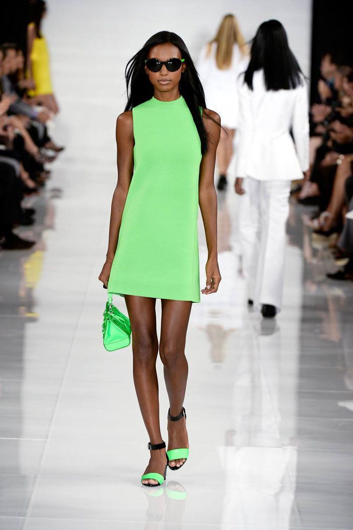 ralph lauren new york fashion week neon 2014 Fabulous Fashion Trends for Fall 2014