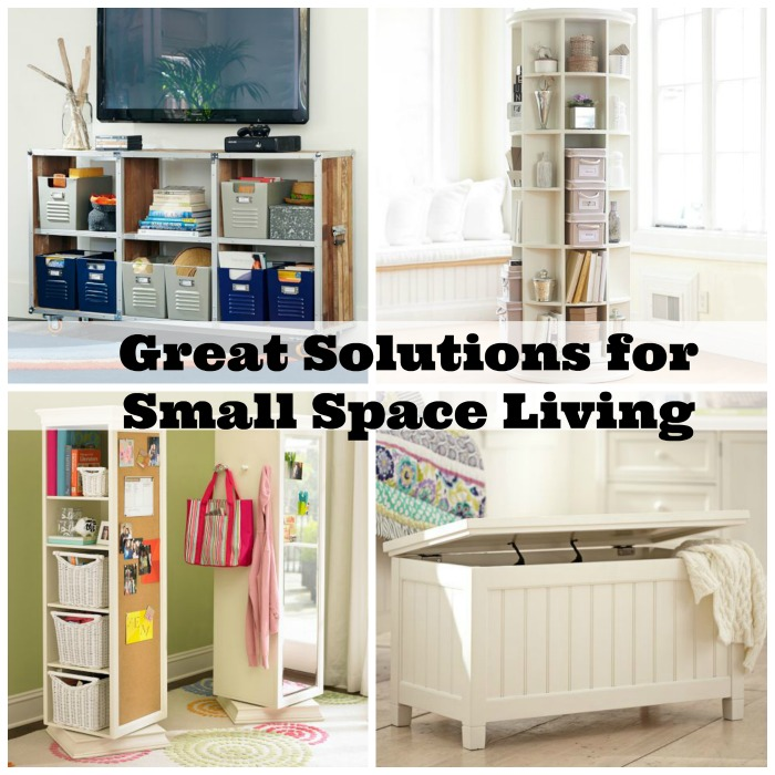 Great solutions for small space living how was your day for Small room solutions