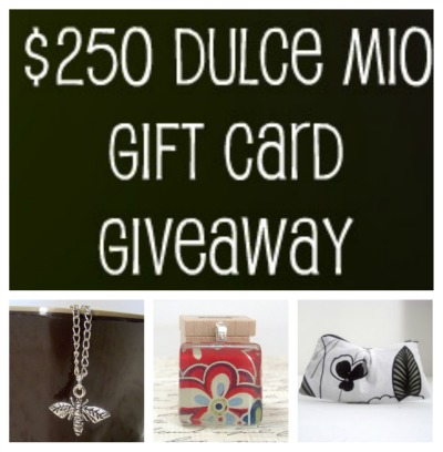 250dulcemiocollage(1) $250 Dulce Mio Gift Card Giveaway   WW