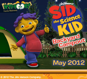 Free tickets to see Sid the Science Kid in KS, MO, and CA