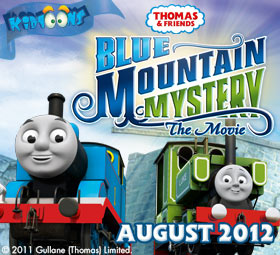 Thomas the Tank Engine Blue Mountain Mystery Movie