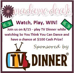 So you thunk you can dance tv party giveaway
