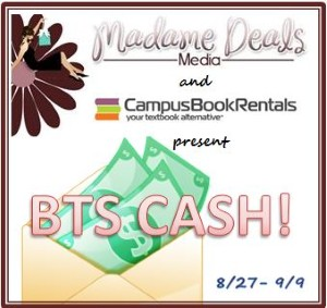 $100 Paypal Cash or Textbook rental credit giveaway