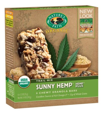 Nature's Path Sunny Hemp Granola Bars