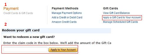 How to Redeem Amazon Gift Codes
