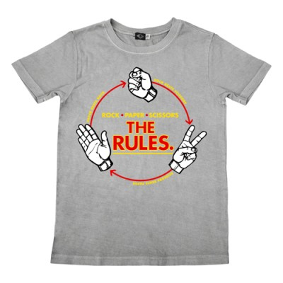 Hank Player Rock Paper Scissors Tee Giveaway