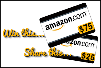 TellWutPrize $100 in Amazon Gift Cards Giveaway #payitforward