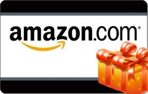 amazon gift card1 300x190 $100 in Amazon Gift Cards Giveaway