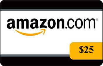 amazon25 $25 Amazon Gift Card Flash Giveaway