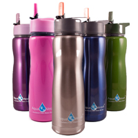 Aqua Vessel Water Filter Bottles from Eco Vessel