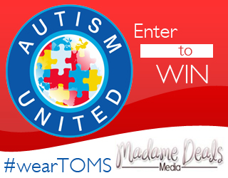Win a Pair of Toms Shoes in this giveaway