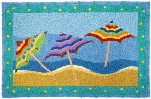 Beach Umbrella Rug from Jellybean Giveaway