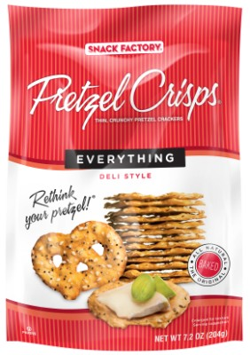 Everything Pretzel Crisps