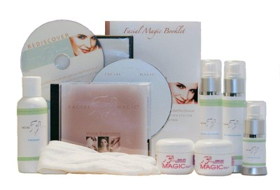 Facial Magic Facial Toning Exercise kit