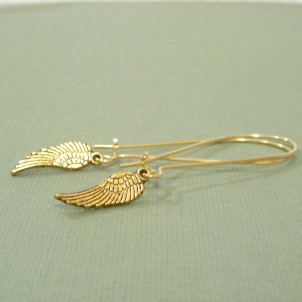 Winging It Earrings in Gold Giveaway
