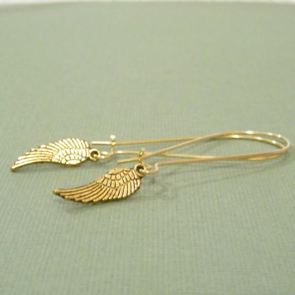 Winging It Earrings in Gold Giveaway