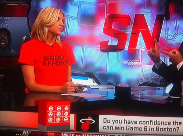 The Original Good Effort Tee by Polkpanther.  As seen on ESPN