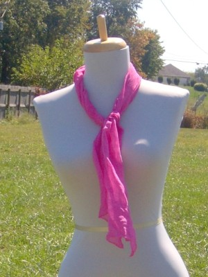 hotpinksilkscarf2 (300 x 400) Hand Dyed Silk Scarf Giveaway #globalgiveaway WW