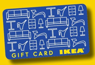 Enter to win a $100 Ikea Gift Card