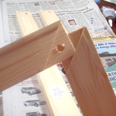 joiningcorners2 (400 x 400) Make Your Own Picture Frame for $5