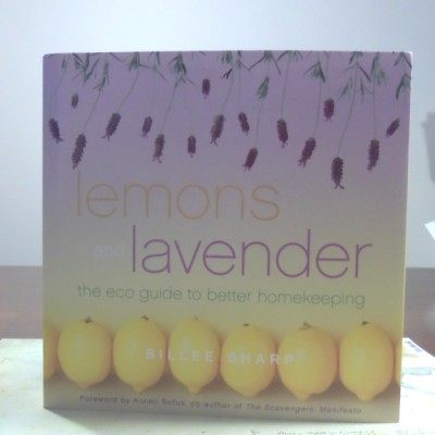 Lemons and Lavender eco friendly housekeeping guide book by billie sharp