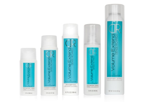 lineup (500 x 350) Denise Richards Volume Extend by Cristophe Haircare Line Giveaway