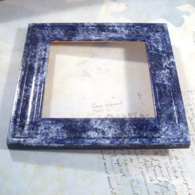 marbleframe (399 x 400) Marble Faux Finish Cigar Box and Frame