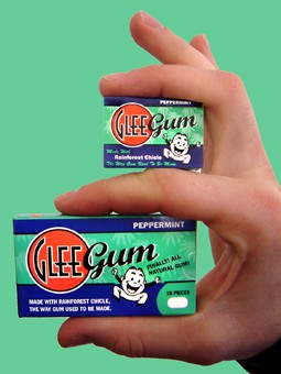 miniglees (255 x 340) Glee Gum   Its a Natural Choice