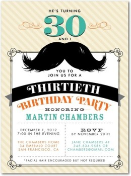 mustachecard (260 x 350)(1) Tiny Prints Birthday Invitations for Adults