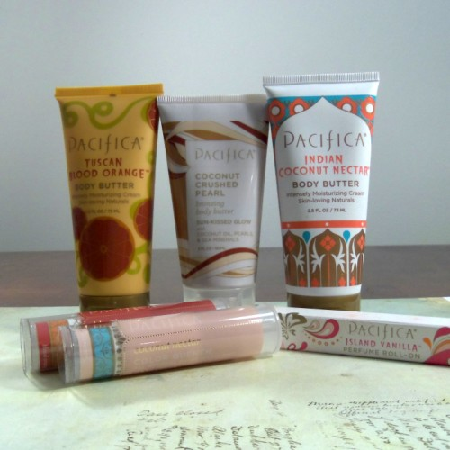 Pacifica Body Butter and Lip Balm