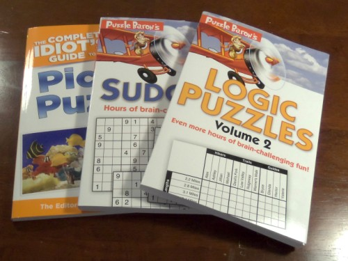 Puzzle Baron Puzzle Books Giveaway