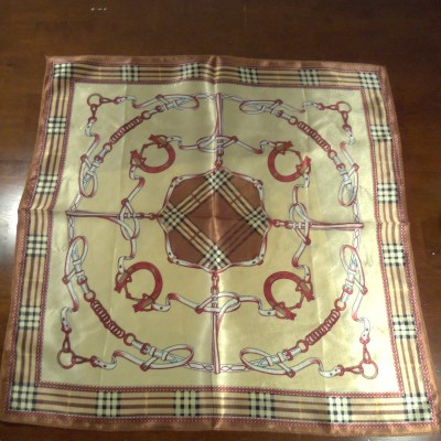 hermes inspired Silk scarf giveaway open