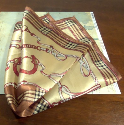 Hermes Inspired silk scarf giveaway