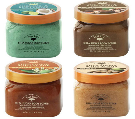 shea sugar body scrub collection1 Tree Hut Shea Skincare Products Giveaway #summersizzle