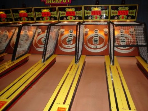 I am a skee ball addict
