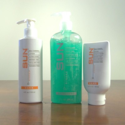 Giesee Sun Self Tanning Lotion Set