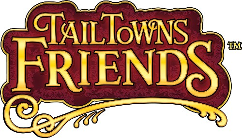 tailtownsfriendslogo (500 x 286) Tail Towns Friends Facebook Game Review + Giveaway