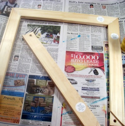 threepieces (400 x 401) Make Your Own Picture Frame for $5