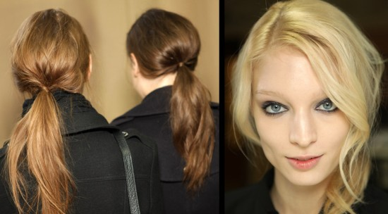 Chic Low Ponytail hairstyle