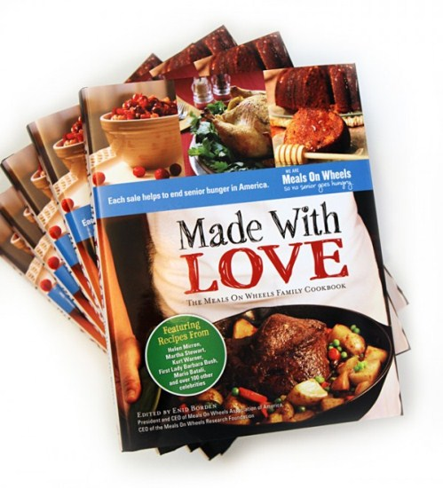 Made With Love Meals on Wheels Celebrity cookbook