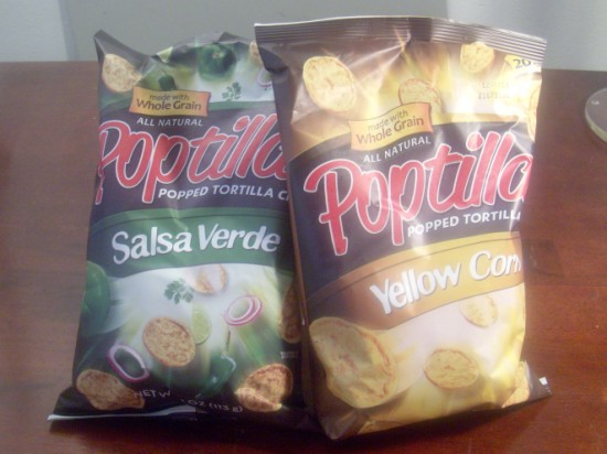 Poptillas popped tortilla chips