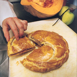 French pumpkin pie recipe