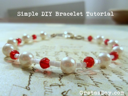 DIY Beaded Bracelet Tutorial